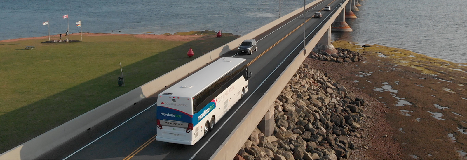 maritime bus on confederation bridge